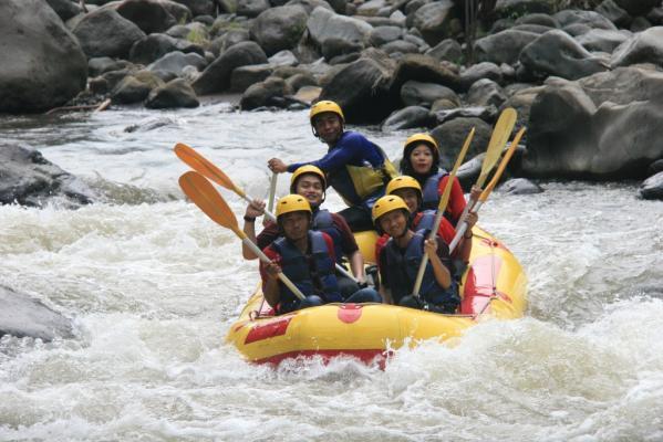 Rafting Songa Atas